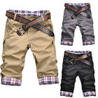 Men Fashion Korean Slim Shorts Summer Casual Short Pants Trousers 3Color 5Size