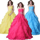 Brides Wedding dresses Women's Prom evening Cocktail dress Princess Ballgown