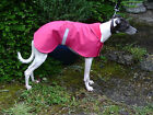 WHIPPET AND LURCHER 10'' to 19'' WATERPROOF PUPPY  DOG RAIN COAT  ,
