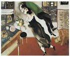 Chagall - The Birthday (1915) Art Canvas/Poster Print A3/A2/A1