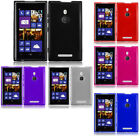 For T-Mobile Nokia Lumia 925 Frosted TPU CANDY Flexi Gel Skin Case Phone Cover