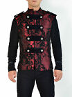 SHRINE LEGION VEST GOTHIC  JACKET MILITARY UNIFORM ROCK BAND EMO GOTH STEAMPUNK