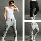 New Hip pop Men fashion Autumn Casual Sporty Harem Baggy Sport Sweat long Pants