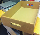 "CARDBOARD TRAYS 16""x10.5""x4"" PERFECT FOR BEER/DRINK CANS/FRUIT/VEG STORAGE TRAY"