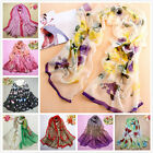 Spring Autumn Fashion womens'Long Chiffon Scarf Wraps Shawl Stole Soft Scarves