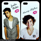 JUSTIN BEIBER HARRY STYLES One Direction iPhone 4,4s, 5 iPod 4 Hard Case Cover