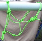 HORSE ROPE HALTER PRO. TRAINING, RIDING NEON GREEN YOU SELECT YOUR SIZE