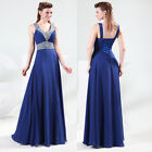 Sexy V-Neck Women's Formal Party Prom Gowns Evening Bridemaids Cocktail dress