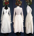 Eternal Love Ivory Wedding Gothic Renaissance La Belle Dame Dress XS S  L