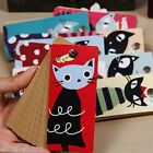Pied Cat Notepad Notebook Loose-leaf Memo Pad Pocket Message Book HQS-G103877