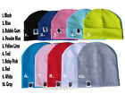 You Pick Color 1 Cotton Infant/Kids/Adults Beanie Skull Cap FREE US SHIPPING