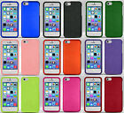 For Apple iPhone 5C Rubberized HARD Protector Case Snap On Phone Cover
