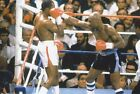Sugar Ray Leonard v Marvin Marvellous Hagler 12x8 unsigned photo