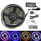 Brand New 5050 RGB 5M LED Strip  Power Adapter With IR Remote Best Buy On Ebay