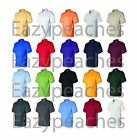 PEACHES PICK NEW Mens Size S-5XL 50/50 Jersey Knit Polo Sport Shirt 8800