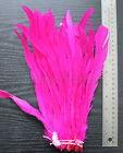 """25pcs10-12""""long Dyed Rooster COQUE tail Feathers,16+ colors to pick from, New!"""