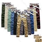 New Fashion Men Stylish Jeans Straight Slim Fit Trousers Casual Long Pants