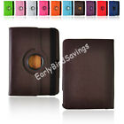 Leather 360 Rotating Case Cover for Samsung Galaxy Tab3 P5200 P5210 10.1""