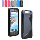 S-Line Wave Soft TPU Curve Gel Case Cover Skin for Motorola ATRIX HD MB886