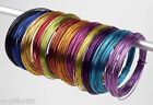 Aluminium Wire 10 Metre Coloured Roll 2mm Width Smithers Oasis Floristry Crafts