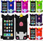 For Apple iPhone 5C Rubber SILICONE Soft Gel Skin Case Phone Cover Cute Pig
