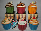 Cupcake Cup Cake Tea light candle holder Ceramic Novelty Gift boxed Present