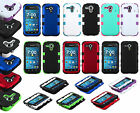 For Kyocera Hydro Edge C5215 IMPACT TUFF HYBRID Hard Case Phone Cover Accessory