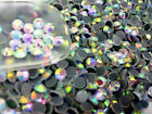 1440pcs Hot-Fix Iron-On Flat-Back Beads Rhinestones Multi Color & Size Selection