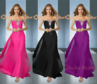 New Bridesmaid Dresses Prom Evening Gowns Party Formal Cocktail Beading SZ 6-26