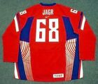 JAROMIR JAGR 2006 Czech Nike Olympic Throwback Hockey Jersey
