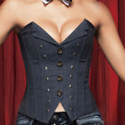 Hot Sale Sexy Strapless Office Lady's  Vintage Corset Top Bustier 5 Size S~2XL