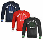 New Nike Mens Athletic Fleece Sweatshirt Jumper Red Blue Grey S M L XL XXL Top
