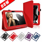 Stylish Leather Case Cover for Amazon Kindle Fire HD 7 inch Tablet + Free Stylus