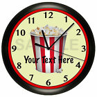 HOME THEATER WALL CLOCK MOVIE NIGHT CUSTOMIZED PERSONALIZED HOUSE WARMING