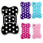 3D Silicon Soft Skin Cute Bow  Back Cover Case For Apple iphone 4 4G 4GS 4S Hot