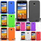 For AT&T GoPhone ZTE Z998 Rubber SILICONE Soft Gel Skin Case Phone Cover
