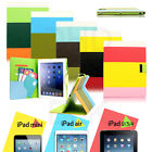 Hybrid PU Leather Wallet Flip Pouch Stand Case Cover FOR APPLE iPAD AIR 5 5TH
