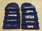 BEANIE HAT DOPE HOMIES WASTED BAD HAIR DAY MEOW AINT NO WIFEY T SHIRT SNAPBACK