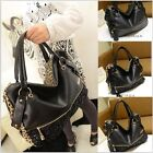New Lady Hobo PU Leather Tassel Handbag Shoulder Bag Messenger Cross Body Bag