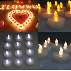 Внешний вид - 24/60/100 PCS Electronic Tea Light LED Candle for Valentines Day Wedding Party