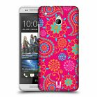 HEAD CASE DESIGNS PSYCHEDELIC PAISLEY SNAP-ON BACK CASE COVER FOR HTC ONE MINI
