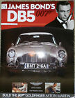 BUILD YOUR OWN JAMES BOND 007 ASTON MARTIN DB5 PARTS AND MAG - 1 to 25 Eaglemoss
