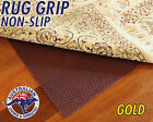 GOLD GRADE RUG GRIP - NON SLIP UNDERLAY - FOR RUGS AND RUNNERS - 400g/SQM