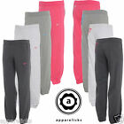 Nike Girls Bottoms Joggers Cotton Poly Charcoal White Grey Pink All Sizes 449469