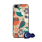 Hooty Hoot! Owl - Case for iPhone 5 or 5s, Cell Phone Cover - Retro Owls