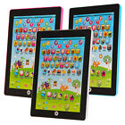 Electronic Childrens Tablet Computer Ipad Kids Educational Play Read Game Toy
