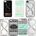 Plastic Protective Case for iPhone 4 4s Case Vintage Damask Hakuna Matata AA09