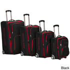 Rockland Polo Equipment Olympian 4-piece Expandable Luggage Set