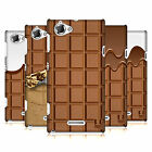 HEAD CASE DESIGNS CHOCOLATY CASE COVER FOR SONY XPERIA L C2105