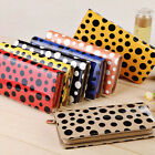 Polka Dot Spotty Style Ladie Girls Women Purse Wallet Bags Handbags